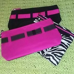 💄💅Juncos of 3 cosmetic bags(I have two sets)